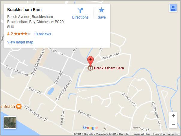 bracklesham-map